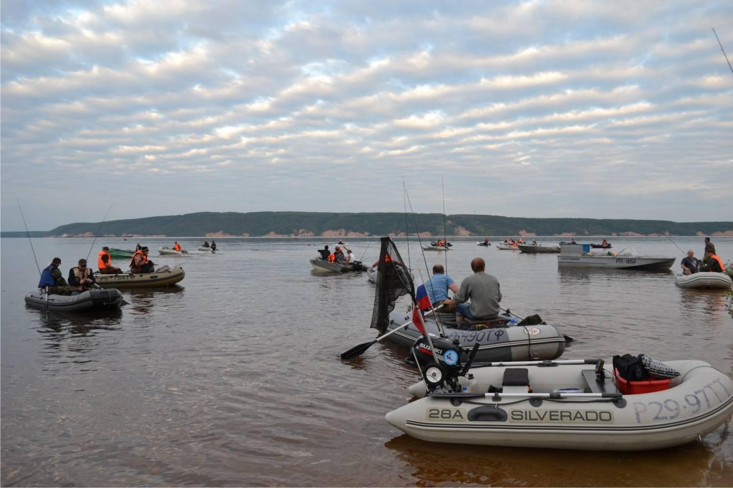 места для рыбалки возле казани