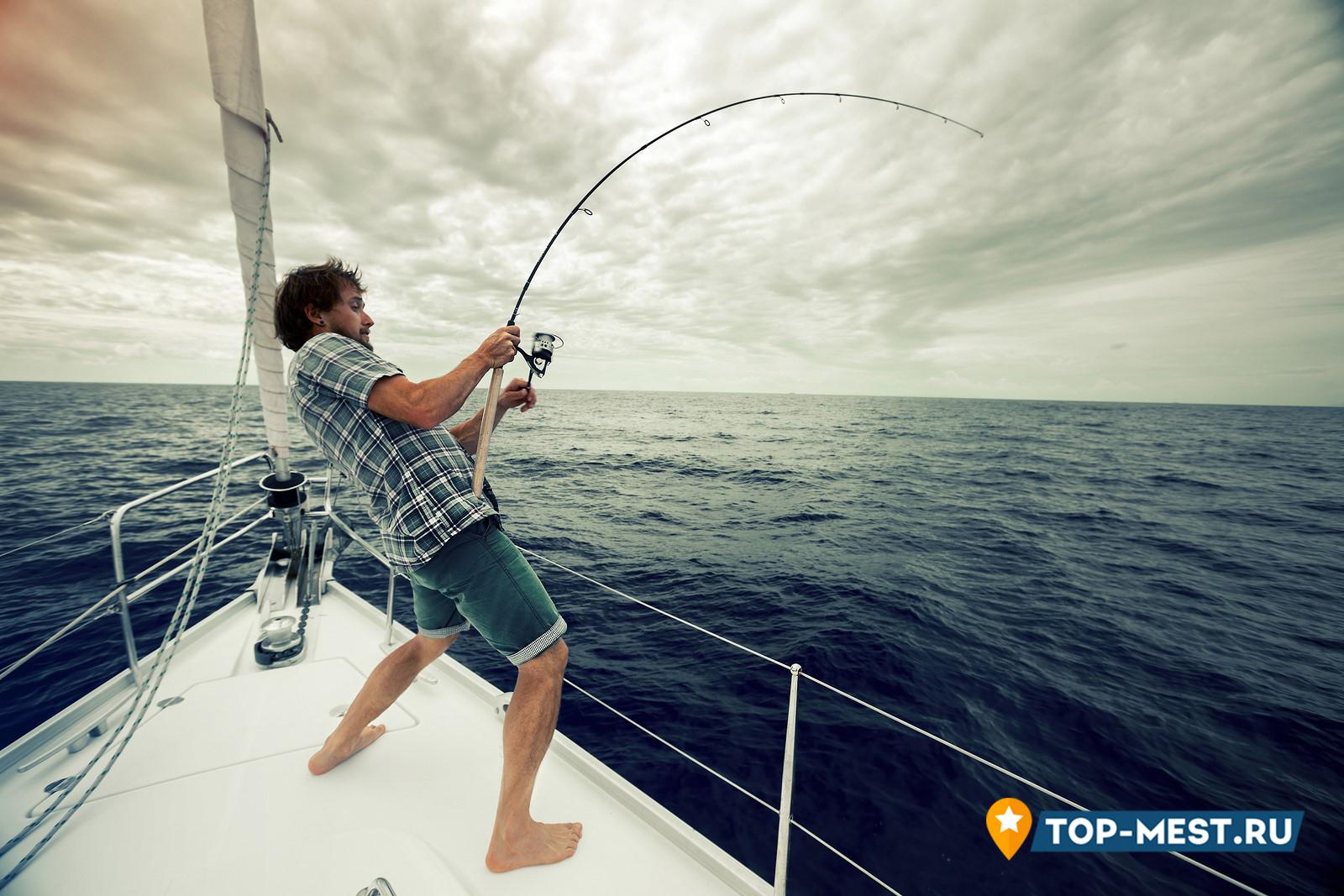 про рыбалку на море