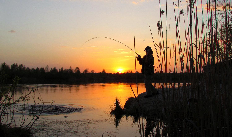 рыбалка в рыбхозе лубна